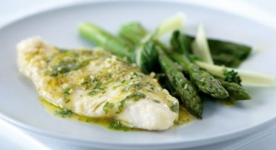 Lemongrass, Ginger, and Lime Butter Fish