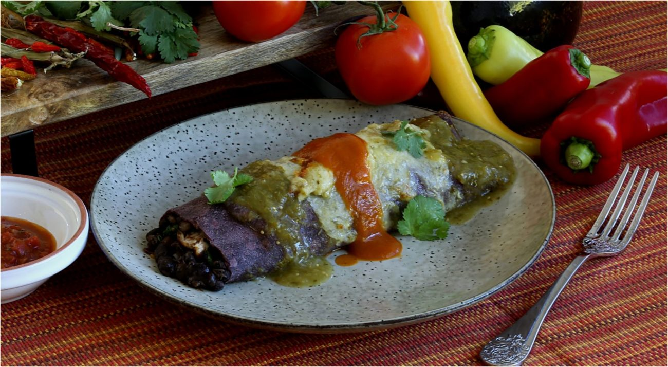 Blue Corn Enchilada